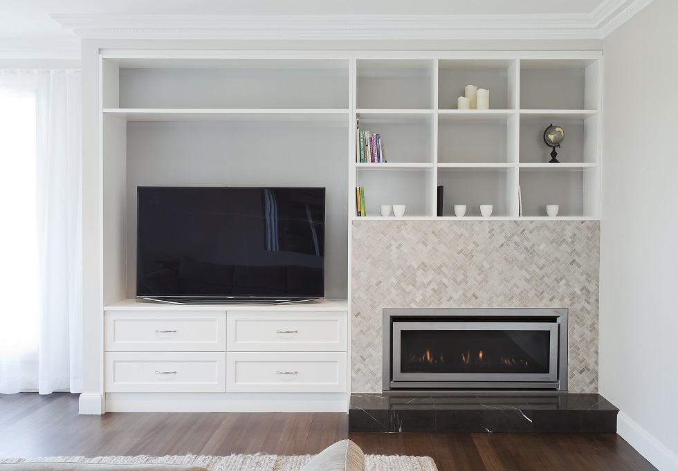 Fireplace Cabinets Northern Beaches