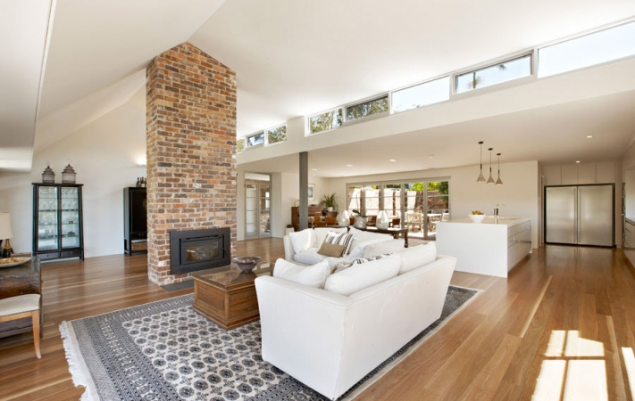 Open plan renovation northern beaches
