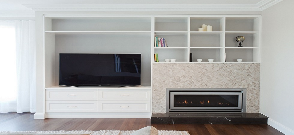 Built-in fireplaces made to measure