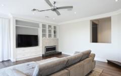Fireplace & TV unit Collaroy (2)