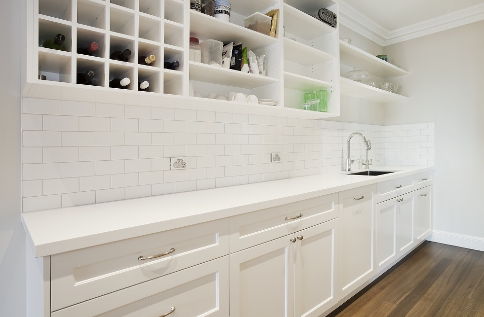 Hampton Style Collaroy Kitchen With Butler S Pantry